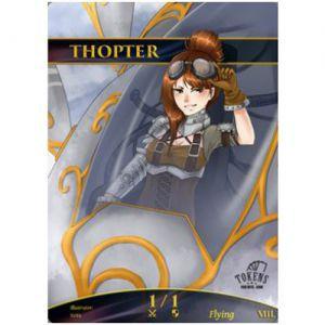 Tokens Magic Accessoires Pour Cartes Token/jeton foil - Thopter