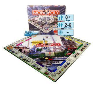 Autres jeux de plateau MEGA Monopoly Paris
