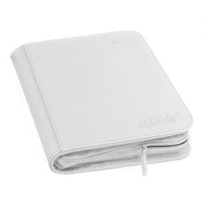 Portfolios  A5 Zipfolio Xenoskin - Blanc