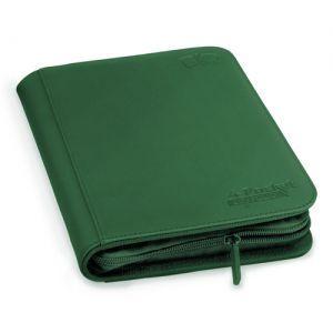 Classeurs et Portfolios  A5 Zipfolio Xenoskin - Vert
