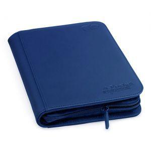 Portfolio  A5 Zipfolio Xenoskin - Bleu