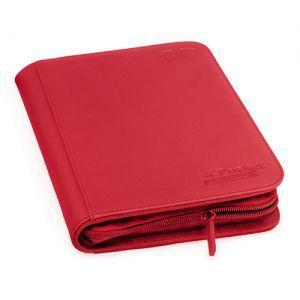 Classeurs et Portfolios Accessoires Pour Cartes Portfolio Ultimate Guard - A5 Zipfolio Xenoskin - Rouge - Acc