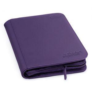 Classeurs et Portfolios  A5 Zipfolio Xenoskin - Violet