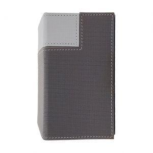 Boites de Rangements Accessoires Pour Cartes Deck Box Ultra Pro - Tower - Dark Silver & Light Silver