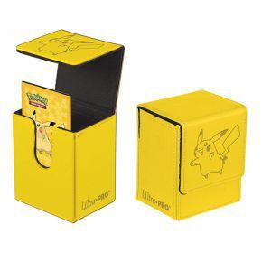 Boites de rangement illustrées  Deck Box Ultra Pro - Flip Box aimantée - Pokemon - Pikachu - ACC