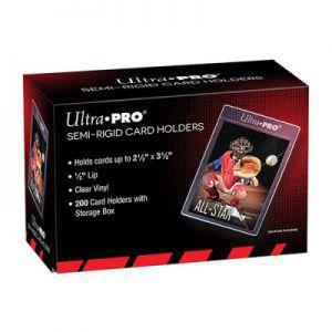 Protèges Cartes  Ultra Pro - 200 Semi-Rigid Card Holders - ACC
