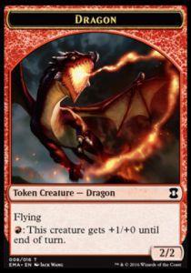 Tokens Magic Token/Jeton - Eternal Masters - Dragon
