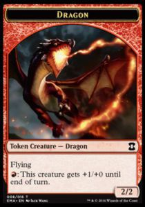Tokens Magic Accessoires Pour Cartes Token/Jeton - Eternal Masters - Dragon