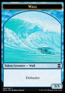 Tokens Magic Accessoires Pour Cartes Token/Jeton - Eternal Masters - Mur