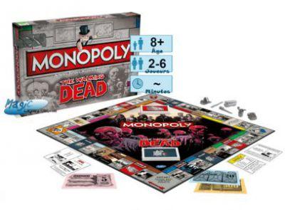 Autres jeux de plateau Walking Dead - Monopoly