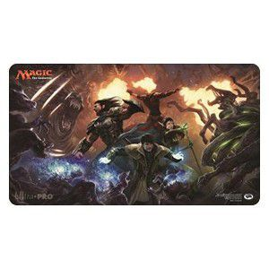 Tapis de Jeu Magic the Gathering Playmat - La Lune Hermétique - Bataille Arpenteur