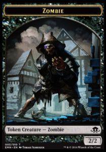 Tokens Magic Accessoires Pour Cartes Token/Jeton - La Lune Hermétique - Zombie Pirate