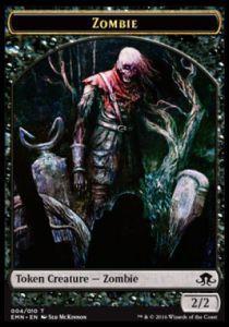 Token Magic Token/Jeton - La Lune Hermétique - 04/10 Zombie