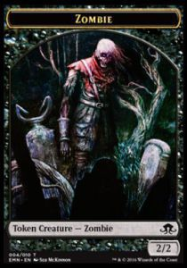 Tokens Magic Magic the Gathering Token/Jeton - La Lune Hermétique - Zombie n°4