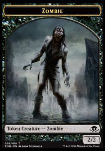 Tokens Magic Magic the Gathering Token/Jeton - La Lune Hermétique - 05/10 Zombie