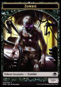 Tokens Magic Accessoires Pour Cartes Token/Jeton - La Lune Hermétique - Zombie */*