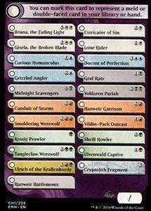 Tokens Magic Accessoires Pour Cartes Token/Jeton - La Lune Hermétique - Checklist