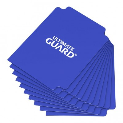 Boites de Rangements Accessoires Pour Cartes Deck Dividers Ultimate Guard - 10 Séparateurs De Cartes - Bleu Foncé - Acc