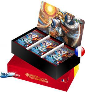 Boites de Boosters Force of Will La Malédiction Du Cercueil De Glace / Curse of the Frozen Casket - Boite De 36 Boosters - Force Of Will - (en Français)