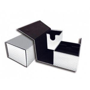 Boites de Rangements Accessoires Pour Cartes Deck Box - Elder Dragon Vault - Blanc Double