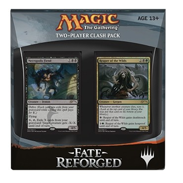 Decks d'Evénement & Commander & Duel Decks Magic the Gathering Fate Reforged - Clash Pack - Bleu/Noir/Vert