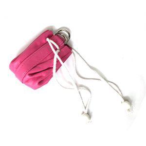 Dés et compteurs Accessoires Pour Cartes Sacoche en Cuir - Rose (Vide) - ACC