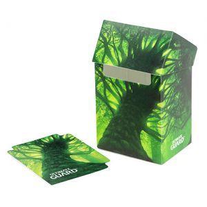 Boites de rangement illustrées Deck Case - Lands Edition Forêt