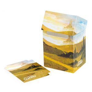 Boites de rangement illustrées  Deck Case - Lands Edition Plaine