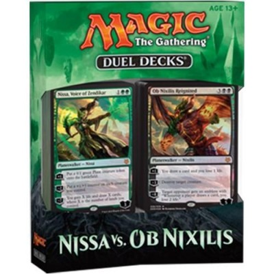 Decks Magic the Gathering Duel Decks : Nissa Vs Ob Nixilis - Vert/noir