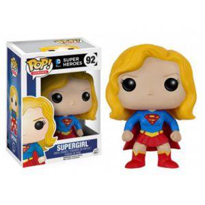 Figurines Funko POP! Accessoires Pour Cartes DC Comics - Funko POP Vinyl - 92 - Supergirl