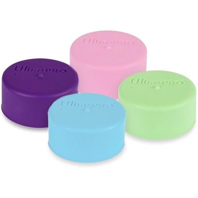 Tapis de Jeu Accessoires Pour Cartes Ultra Pro - Sachets de 2 Capuchons pour Tube Tapis - Play mat - Violet - ACC