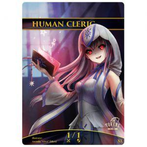 Tokens Magic Accessoires Pour Cartes Token/jeton foil - Humain et Clerc