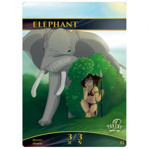 Tokens Magic Token/jeton foil - Elephant