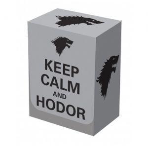 Boites de rangement illustrées Deck Box - Keep Calm & Hodor