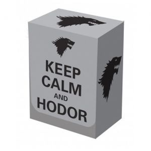 Boites de rangement illustrées  Deck Box - Keep Calm & Hodor