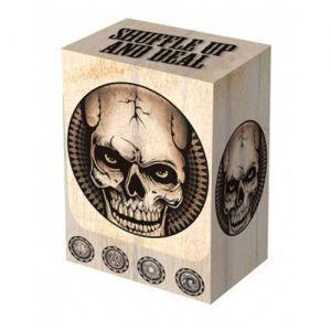 Boites de rangement illustrées  Deck Box - Dead Man's Head