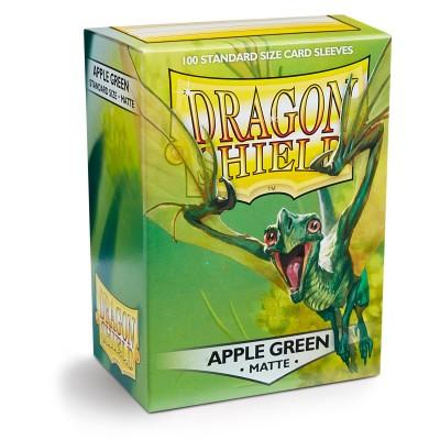 Protèges Cartes Accessoires Pour Cartes 100 Pochettes - Matte - Apple Green
