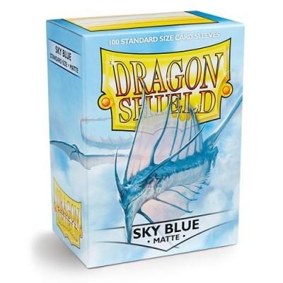 Protèges Cartes Accessoires Pour Cartes 100 Pochettes - Matte - Sky Blue