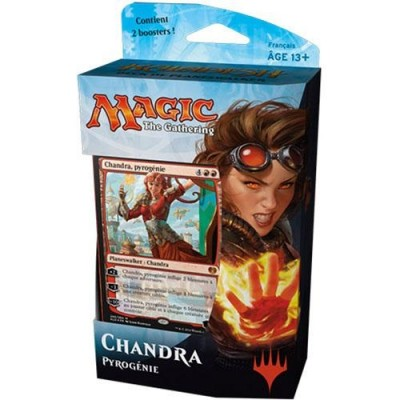 Decks Préconstruits Magic the Gathering Kaladesh -  Blanc/rouge - Planeswalker Deck - Chandra - (en Français)