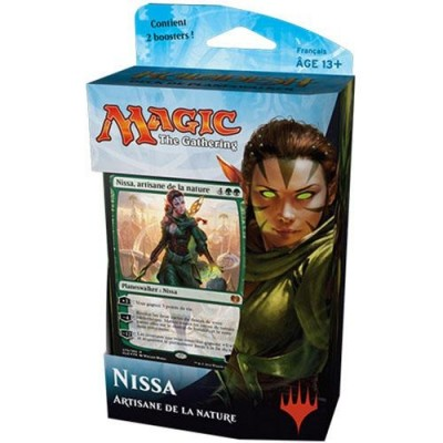 Decks Préconstruits Magic the Gathering Kaladesh - Vert/bleu - Planeswalker Deck - Nissa - (en Français)