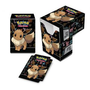 Boites de rangement illustrées Accessoires Pour Cartes Deck Box Ultra Pro - Pokemon - Evoli - ACC