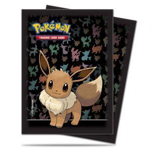 Protèges Cartes illustrées Accessoires Pour Cartes 65 Pochettes Ultra Pro - Pokémon - Evoli - ACC