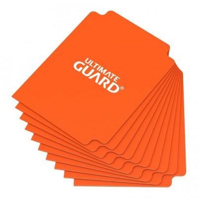 Boites de Rangements Accessoires Pour Cartes Deck Dividers Ultimate Guard - 10 Séparateurs De Cartes - Orange - Acc