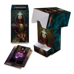 Boites de rangement illustrées Accessoires Pour Cartes Deck Box - Conspiracy : Take The Crown - Queen Marchesa