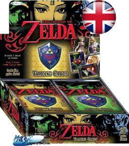 Zelda Autres jeux de cartes The Legend of Zelda - Boite de 24 boosters - (EN ANGLAIS)