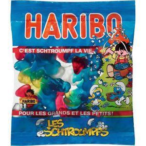 Confiseries Bonbon - Schtroumpfs - Haribo