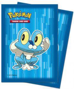 Protèges Cartes illustrées Accessoires Pour Cartes 65 Pochettes Ultra Pro - Pokémon - XY Bleu - ACC