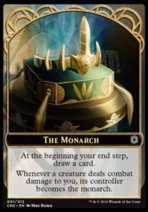 Tokens Magic Accessoires Pour Cartes Token/Jeton - Conspiracy : Take The Crown - The Monarch - Le Monarque