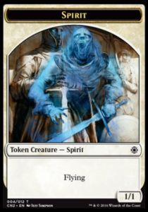 Tokens Magic Magic the Gathering Token/jeton - Conspiracy : Take The Crown - Esprit