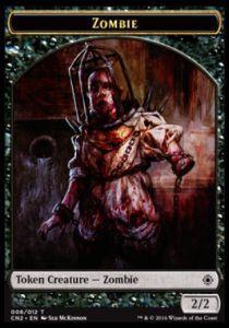 Tokens Magic Accessoires Pour Cartes Token/jeton - Conspiracy : Take The Crown - Zombie